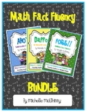 Math Fact Fluency BUNDLE {Common Core Based}