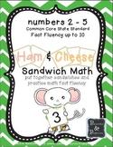Math Fact Fluency - Sandwich Shop!