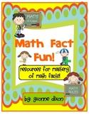 Math Fact Fun Resources
