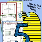 "I Know My ""5"" Multiplication Facts :Math Fact Literacy ***"