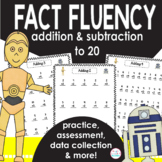 Math Facts Fluency Unit-May the Force Be With You! {Additi