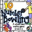 Math Game - 10 Number Bowling