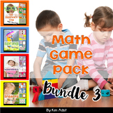 Math Game Pack Bundle #3 by Kim Adsit