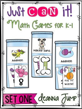 Math Games: RTI and centers for K and 1: Addition and Making Sums