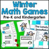 Winter Math Games ~  Snowmen All Around!