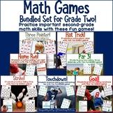 Math Games - Sports Themed BINGO Bundle