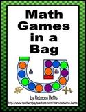 Math Games in a Bag