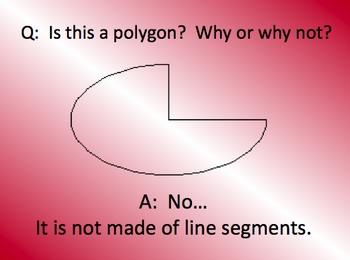 Math Geometry Polygon PowerPoint Lesson and quiz