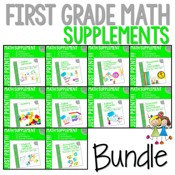 Math Guiding Firsties: Math Supplement GROWING BUNDLE