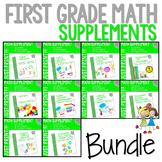 Math Guiding Firsties: Math Supplement GROWING BUNDLE