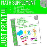 Math Guiding Firsties: Math Supplement UNIT 2