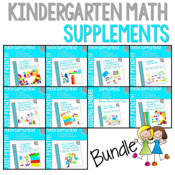 Math Guiding Kinders: Math Supplement GROWING BUNDLE