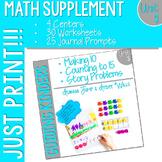 Math Guiding Kinders: Math Supplement UNIT 3