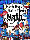 Math Here, Math There, Math Everywhere: Color By The Code Puzzles