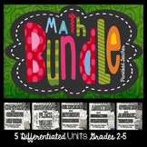 Math Interactive Notebook BUNDLE- Grades 2-5