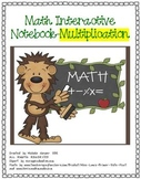 Math Interactive Notebook-Multiplication concepts