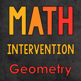 Math Intervention: Geometry