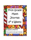 Math Journal 1st Grade- First 9 weeks (updated)