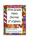 Math Journal 1st Grade- First 9 weeks (updated)
