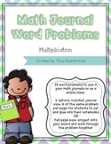 Math Journal Problems Multiplication