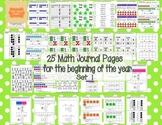 Math Journal Problems Set 1 (Based on Singapore Math)