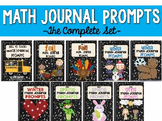 Math Journal Prompts- The Complete Set!