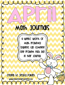 Math Journals {April}