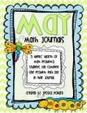 Math Journals {May}