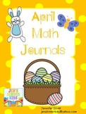 Math Journals for April