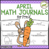 Math Journals for Pre-K: APRIL