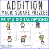Math Magic Square -- Addition 0-12