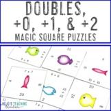 Math Magic Square -- Doubles +0 +1 +2