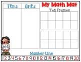 Math Manipulative Mat