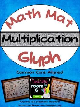 Math Mat Glyph:  Multiplication
