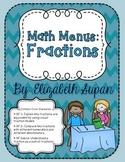 Math Menus: Fractions