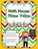 Math Menus: Place Value