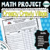 Math Project--Creepy Crawly Village