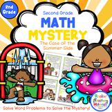 Math Mystery-Case of the Summer Slide-Grade 3-CCSS