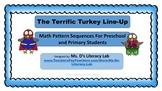 Math Pattern {Turkeys}