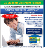 """A+"" Math Placement Test - Assessment, Intervention, Enric"