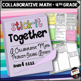 Math Problem-Solving Collaborative Activity for Grade 4 Co