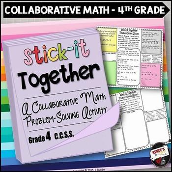Math Problem-Solving Collaborative Activity for Grade 4 Common Core