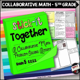 Math Problem-Solving Collaborative Activity for Grade 5 Co