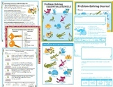 Math Intervention Problem Solving Essentials Bundle {K, 1s