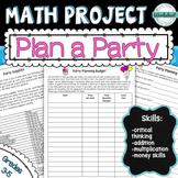 Math Project Plan a Party