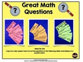 Math Questions