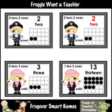 Math Resource -- Ahoy Mateys Number Wall Headers/Posters