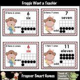 Math Resource -- School Monkeys Number Wall Headers/Posters