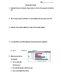 Math Review Quiz-addition and subtraction, multiplication, graph
