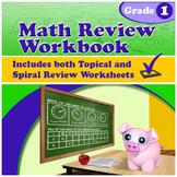 Math Review Workbook - Grade 1